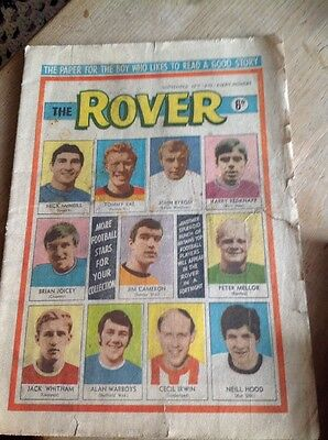 Collectable - The ROVER Comic - 1970