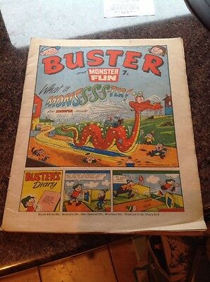 Buster and Monster Fun comic