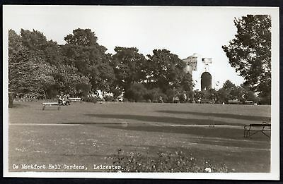 De Monfort Hall Gardens, Leicester. Real Photo. Unused.