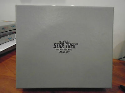 1994 Official Star Trek Tridimensional Chess Set Pieces Only No Board