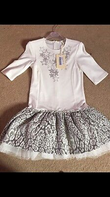 So Twee Size 36 Age 8-9 Dress And Socks BNWT Christmas Also Matching Socks