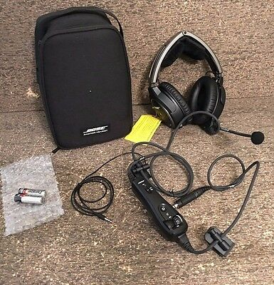 *Never Used* Bose A20 ANR Aviation Headset - Battery Powered (No Bluetooth)