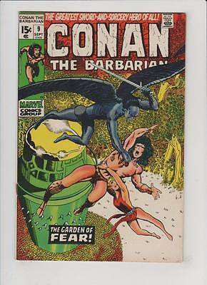 High Grade Marvel Comic: 1971 Conan the Barbarian #9 Barry Windsor Smith (N-046)