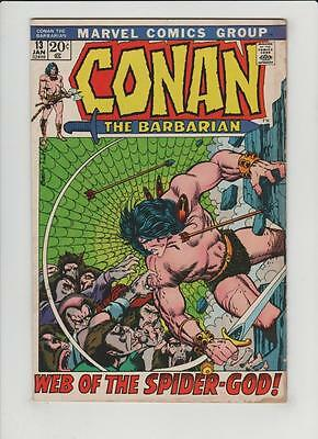 High Grade Marvel Comic: 1972 Conan the Barbarian #13 Barry Smith Cover (N-048)