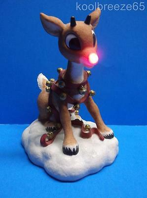 Enesco Rudolph & Island of Misfit Toys Nose Lights Up 104550 Figurine Christmas