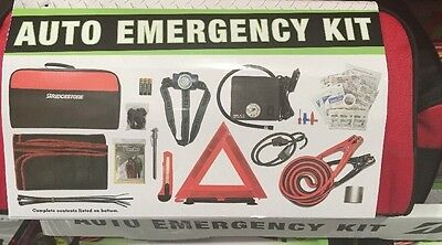 Bridgestone Auto Emergency Kit With Tire Inflator, Booster Cable Etc New!!!
