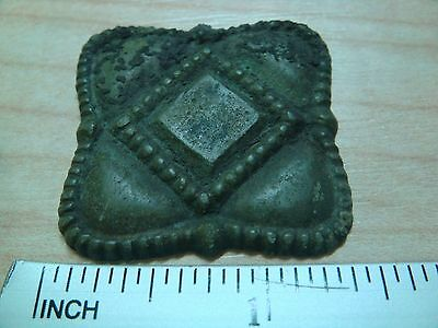 3 Ancient bronze moulds for stamping artifact lot of 3
