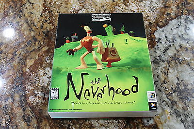 The Neverhood PC Game in Retail Box