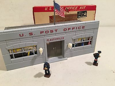 Plasticvlle O scale, Complete, Post Office, Original Box, Complete & Great!
