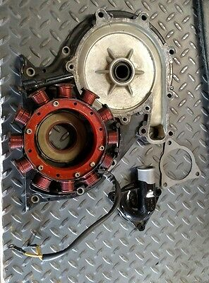 MERCRUISER 3.7 L, 465, 470, 485, 165, 170-190, ENGINE  -new STATOR and cover