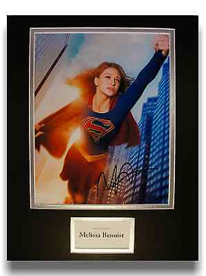 Melissa Benoist 'Supergirl' Authentic Hand Signed Autograph 8x10 Photograph