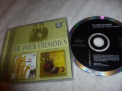 "The Four Freshmen Rare Cd-2 X Album -""and Five Saxes / And Five Guitars """