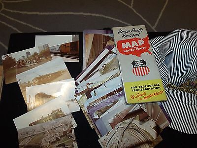union pacific railroad map of usa and royal hudson hat and pics