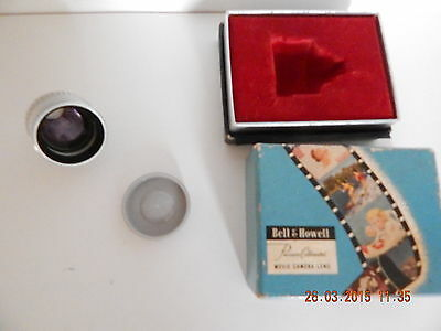 Bell & Howell Precision Collimated Movie Camera Lens, 2 1/2 X Telephoto, Size 5.