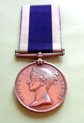 Victorian  Navy Long Service Good Conduct Medal