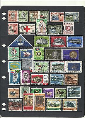 Jamaica . 1962 - 1970 .Used Selection.