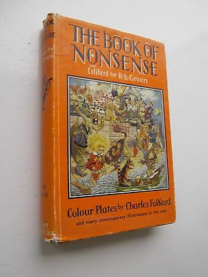 The Book Of Nonsense - By Many Authors Illustrated Charles Folkard 1969
