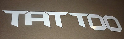 Large Letters TATTOO Sign / Wall Letters / Shop Front Signage Tattoo