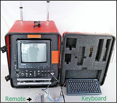 General Wire Company Gen-Eye CL Command Module w/Monitor For Sewer Camera JG-10