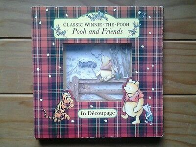 Beautiful WINNIE the POOH picture frame...Disney...EXCELLENT CONDITION...