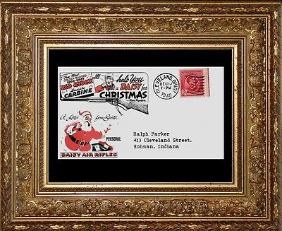 1982 A Xmas Story Envelope Addressed to Ralph Parker Red Ryder BB Gun *192