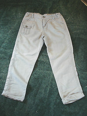 M&s Autograph, 5-6 Years Boys Khaki Colour Trousers