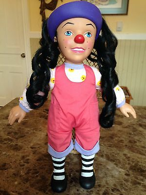 """VINTAGE BIG COMFY COUCH Vinyl Lonette Talking Dolly 17 1/2"""" COMMONWEALTH"""