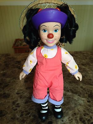 """VINTAGE BIG COMFY COUCH Vinyl Lonette Dolly 14 1/2"""" COMMONWEALTH"""