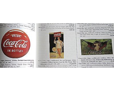 Collectible Advertising HB 1997 Huxford Coca Cola Beer Gas Oil Soda Candy