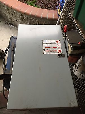 Cutler Hammer 200 Amp Fused Safety Switch 600 Vac 150 Hp 3 Phase Dh364Ngk