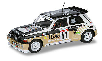 Renault 5 Maxi Turbo - 1986 - 1:18 Solido Model Scale Car Diecast 230