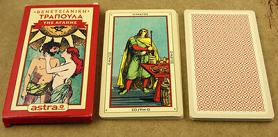 Venetian Cards of Love Fortune Telling Deck Sealed