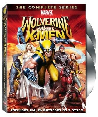 Wolverine and the X-Men: The Complete Series [3 D DVD Region 1 WS