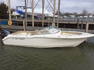 2016 Key West 239 DFS with 200Hp Yamaha  Low hours - No reserve