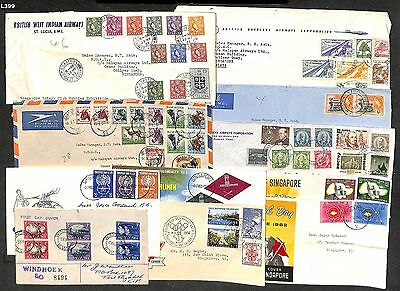 L399 - British Commonwealth Cover Collection