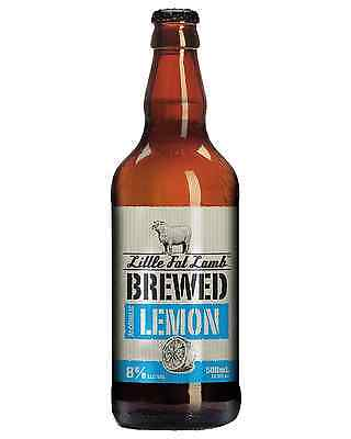 Little Fat Lamb Brewed Lemon 500mL bottle Cider