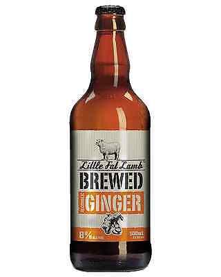 Little Fat Lamb Brewed Ginger 500mL bottle Cider