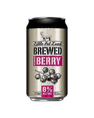 Little Fat Lamb Brewed Berry Can 375mL case of 30 Cider Fruit Flavoured Cider