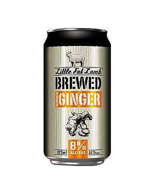 Little Fat Lamb Brewed Ginger Can 375ml case of 30 Cider