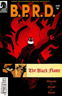 B.P.R.D., The Black Flame #6 (Jan 2006, Dark Horse) VF