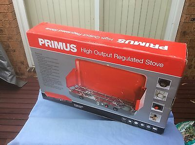 Primus High Output Regulated 2 Burner Gas Stove RRP $185