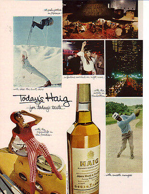 1967 For Today's Taste Haig Scotch Whiskey Ad