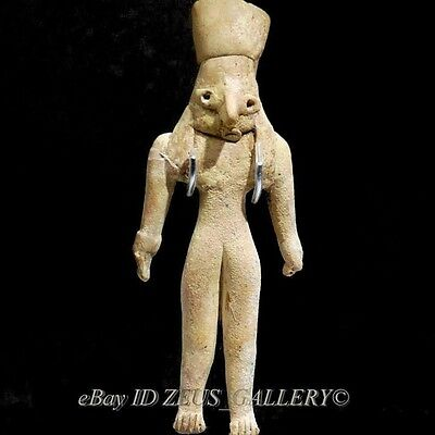 INDUS VALLEY Civilization Male GOD Idol Pottery Figure 2600 BC Bronze Age