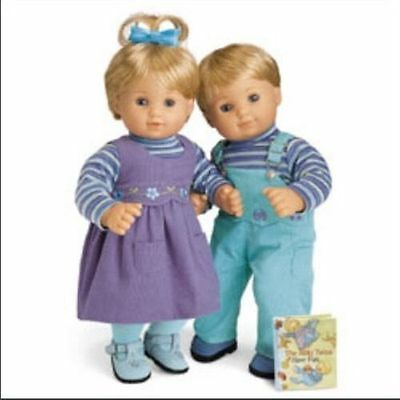AMERICAN GIRL Bitty Twins Play Outfits New In Box