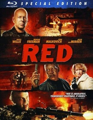 RED [New Blu-ray] Special Edition, Subtitled, Widescreen, Ac-3/Dolby Digital,