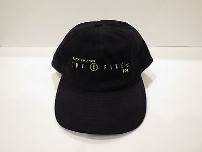 THE X-FILES 100th Episode Hat Cap (Vintage Collectible from 1997)