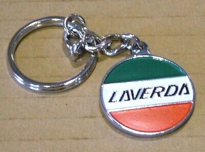 Laverda Key Ring, Chrome.