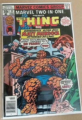 Marvel Two-In-One #37 (Mar 1978, Marvel) FN