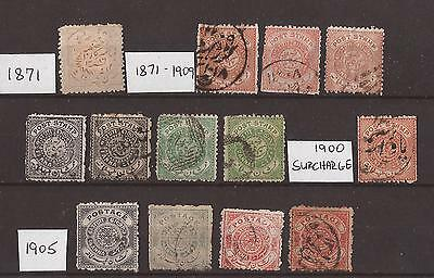 Hyderabad, 1870-1905  Issues, used