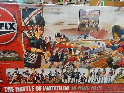 1/72 Airfix Battle of Waterloo set figures and paints